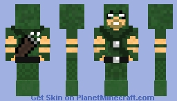 Green Arrow 2.0 (1.8 Format) Minecraft Skin