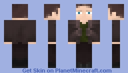 The Ninth Doctor (Christopher Eccleston) Minecraft Skin