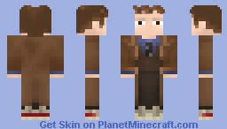 The Tenth Doctor (David Tennant) Minecraft Skin