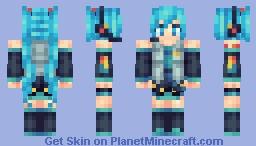 Hatsune Miku [Vocaloid] Minecraft
