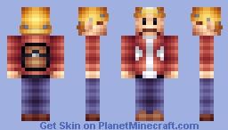 Junk Jack Minecraft Skin