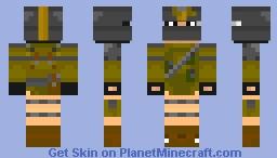 Metro 2033 Lonely Stalker Minecraft Skin