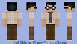 Moss - The It Crowd Minecraft Skin