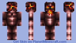 Nether Golem Minecraft Skin