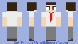 Accountant Minecraft Skin