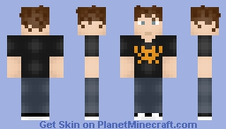 Roy - The It Crowd Minecraft Skin