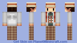 Seventh Doctor Sylvester McCoy Minecraft