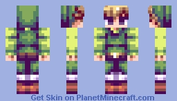 Toon Link - (Based of Sprite's) (6 Alt's) Minecraft