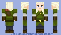 Legolas Greenleaf Minecraft Skin