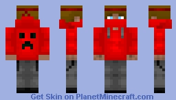 TheRedBoss - Skin requested by FiskFille