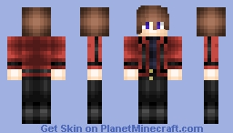 Lelouch/Zero Code Geass (Red Jacket) Minecraft Skin