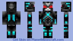 Mr Freeze Minecraft Skin
