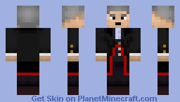 12th Doctor Minecraft Skin