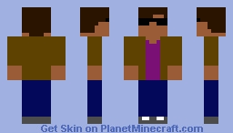 A Cool looking dude Minecraft Skin