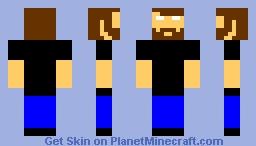 Beard Minecraft Skin