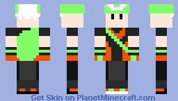 Brendan (Pokemon Emerald) Minecraft Skin