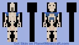 battel droid Minecraft Skin