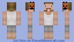 Gaming Dad Minecraft Skin