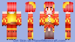 Poke Girl Delphox (Pokemon) Minecraft