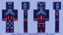 PBLS2 (Week 1) - Cryoskeleton Minecraft Skin