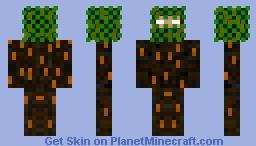 Herobrine Forest Disguise Minecraft Skin