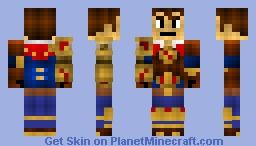 Jayce - League of Legends Minecraft Skin