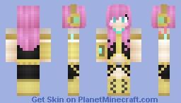Luka Megurine~ :3 -Rinnie~ (Happy birthday, Luka~!) Minecraft Skin