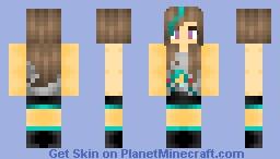 °ρυƒƒєн° M- Miku? (Plus new shading!) Minecraft Skin