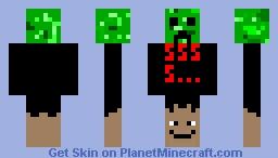Mixed Up Minecraft Skin