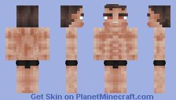 Muscle Man (-1.8 Format-) Minecraft Skin