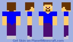 Future Steve Minecraft Skin