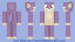 Rattata- MineLP Misuse Minecraft Skin