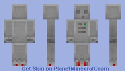 Robo Slime Minecraft Skin