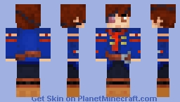 Vyse Minecraft Skin