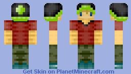 Mah fwiend Minecraft Skin
