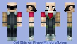 Jet Black (Cowboy Bebop) Minecraft Skin