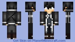 Sword Art Online - Kirito Minecraft Skin