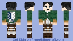 Levi from Attack on Titan (1.8 Updated version)