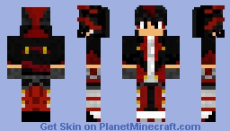 Human Shadow The Hedgehog Minecraft Skin