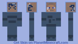 Klaus Heisler a.k.a. Max Hammer Minecraft Skin