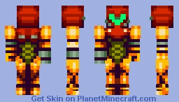 Samus Aran (Amazing-ified for 1.8!) Minecraft