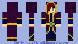 ~Adrelis the Red Mage~ Minecraft Skin