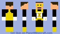 Yellow Lantern Minecraft Skin