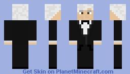 The Third Doctor, Jon Pertwee Minecraft Skin