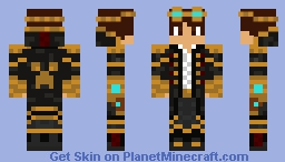 SteamPunk Minecraft Skin