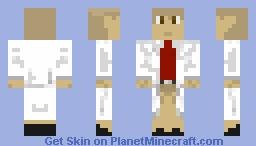 Profesor Minecraft Skin