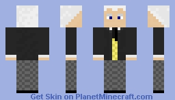 The First Doctor, William Hartnell Minecraft Skin