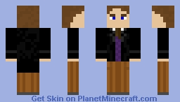 The Eighth Doctor, Paul McGann Minecraft Skin
