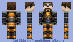 Gordon Freeman (20th Subscriber Special!) Minecraft Skin