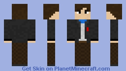 The Second Doctor, Patrick Troughton Minecraft Skin